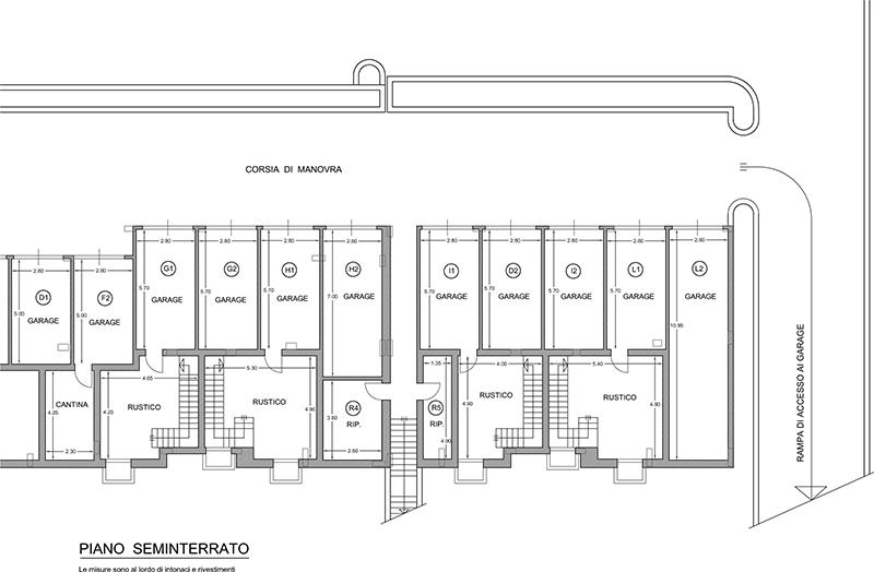 Vendita appartamenti civitanova marche in via mercatini for Piano seminterrato