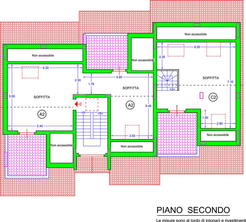 Vendita appartamenti montecosaro zona peep for Piano piano lotto stretto