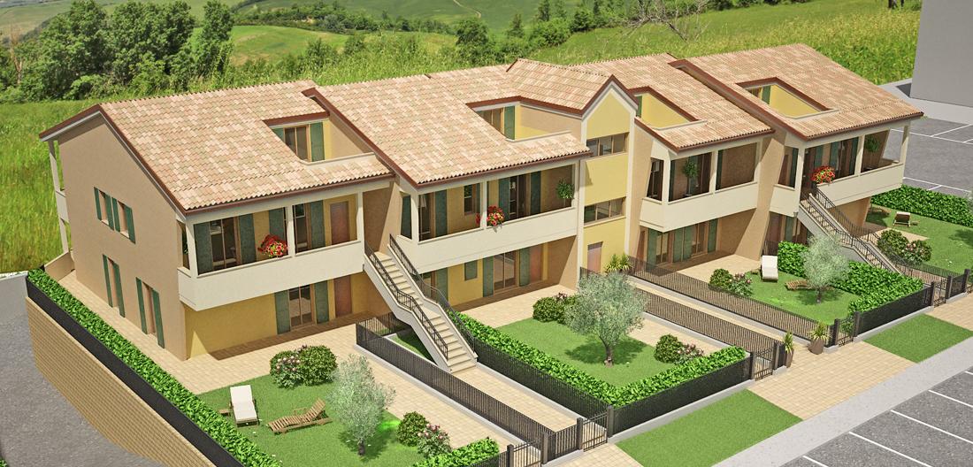 Vendita appartamenti Montecosaro - Zona Peep