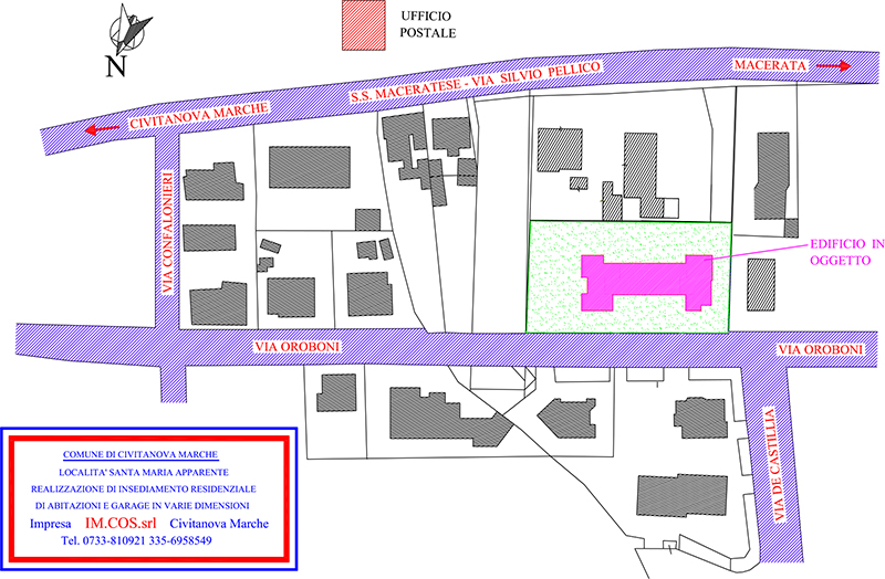 Vendita appartamenti civitanova a santa maria apparente for Planimetrie della casa del registro del ranch